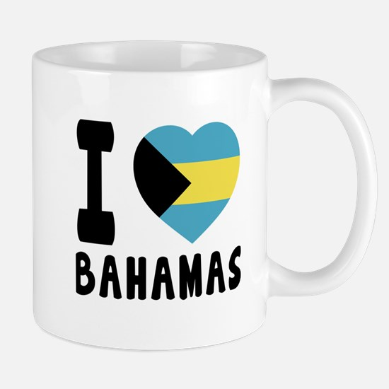I Love Bahamas Mug