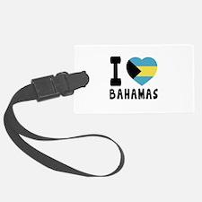 I Love Bahamas Luggage Tag