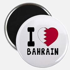 I Love Bahrain Magnet