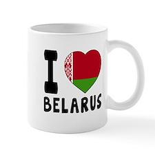 I Love Belarus Mug