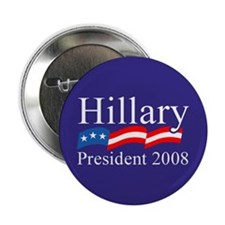 HILLARY CLINTON PRESIDENT 200 Button