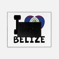 I Love Belize Picture Frame