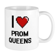 I love Prom Queens digital design Mugs