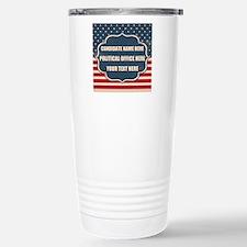 Personalized USA Presid Stainless Steel Travel Mug