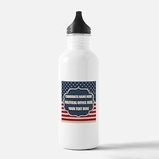 Personalized USA Presi Water Bottle