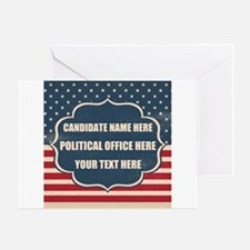 Personalized USA President Greeting Card