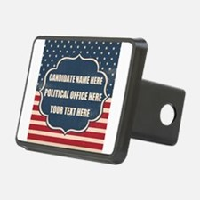 Personalized USA President Hitch Cover