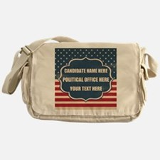 Personalized USA President Messenger Bag