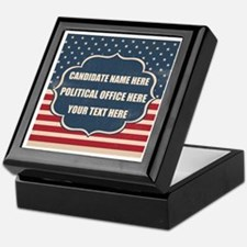 Personalized USA President Keepsake Box