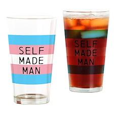 Self Made Man Drinking Glass