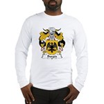 Burges Family Crest Long Sleeve T-Shirt