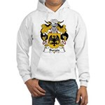 Burges Family Crest Hooded Sweatshirt