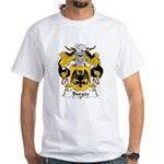 Burges Family Crest White T-Shirt