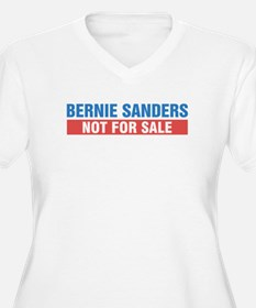 Bernie Sanders Not For Sale Plus Size T-Shirt
