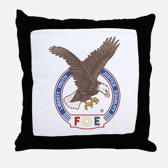 Cute Eagles Throw Pillow