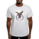 Fraternal order of eagles Mens Light T-shirts