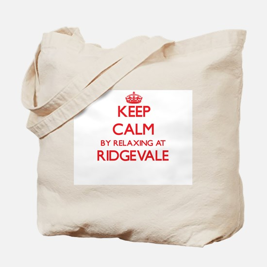 Keep calm by relaxing at Ridgevale Massac Tote Bag