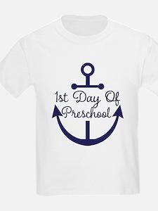 1st Day Of Preschool T-Shirt