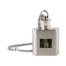 Nature Is My Church Flask Necklace
