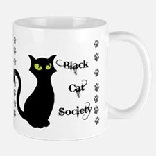 Black Cat Society Mugs