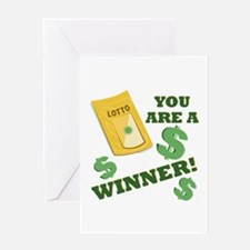 A Winner Greeting Cards