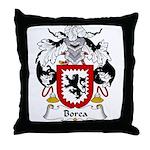 Borea Family Crest Throw Pillow