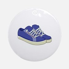 Sneakers Round Ornament