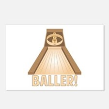 Skee Baller Postcards (Package of 8)
