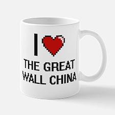 I love The Great Wall China digital design Mugs