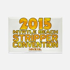 MMXXL Stripper Convention Rectangle Magnet