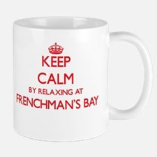 Keep calm by relaxing at Frenchman'S Bay Virg Mugs