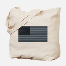 US Flag Urban Patch Tote Bag
