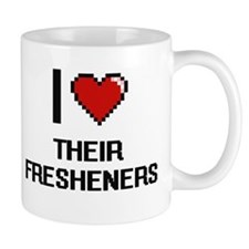 I love Their Fresheners digital design Mugs