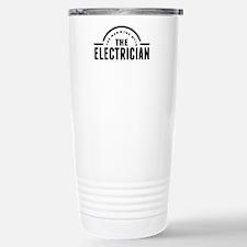 The Man The Myth The Electrician Travel Mug