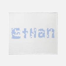 Baby Feet Ethan Throw Blanket