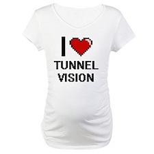I love Tunnel Vision digital des Shirt