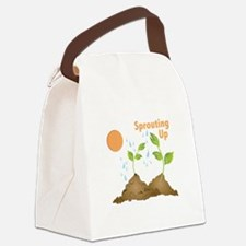 Sprouting Up Canvas Lunch Bag