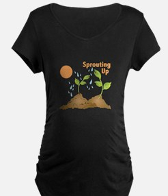 Sprouting Up Maternity T-Shirt