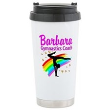 GYMNAST COACH Travel Coffee Mug