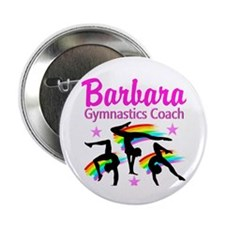 "GYMNAST COACH 2.25"" Button"