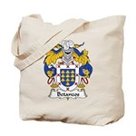 Betanzos Family Crest Tote Bag