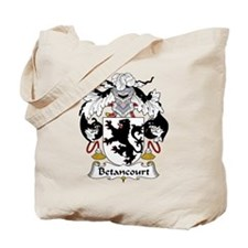 Betancourt Family Crest Tote Bag
