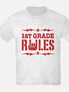 1st Grade Rules T-Shirt