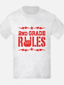 2nd Grade Rules T-Shirt