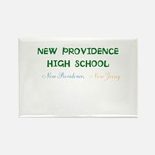 NEW PROVIDENCE HIGH SCHOOL, NP,NJ Rectangle Magnet