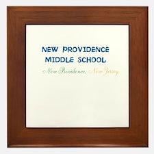 New Providence Middle School, Np, Nj. Framed Tile