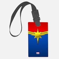 Captain Marvel Luggage Tag