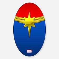 Captain Marvel Decal
