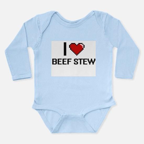 I love Beef Stew digital design Body Suit
