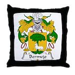 Bermejo Family Crest Throw Pillow